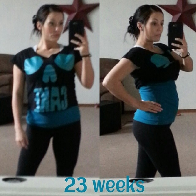 23 Weeks Pregnant! | the protein princess