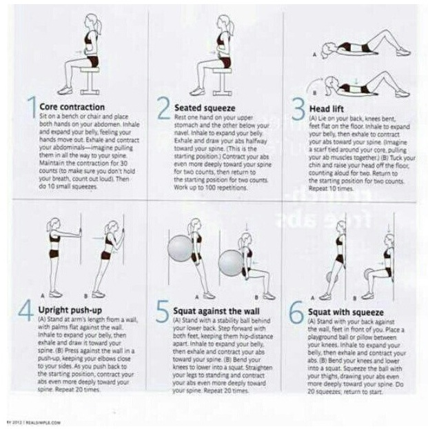 Postpartum diastasis recti how it affects working out the here are a few core exercises to try ccuart Images